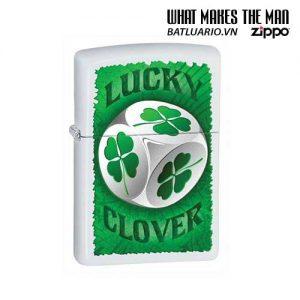 Zippo 28298 - Zippo Lucky Clover Dice White Matte