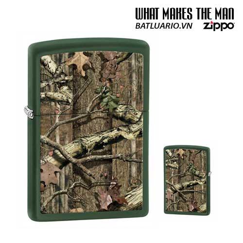 Zippo 28331 - Zippo Mossy Oak Green Matte Break Up Infinity