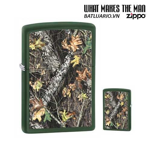 Zippo 28332 - Zippo Mossy Oak Green Matte Break Up