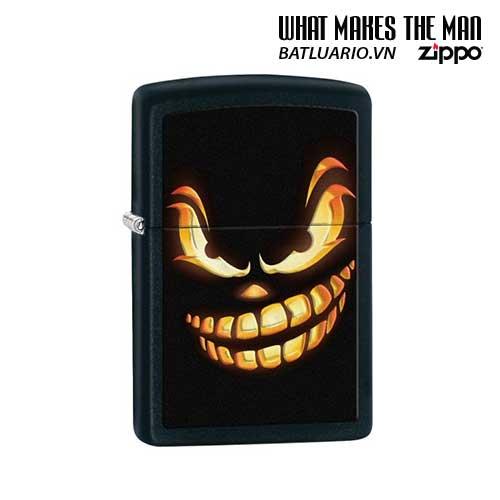 Zippo 28439 - Zippo Scary Jack o Lantern Black Matte