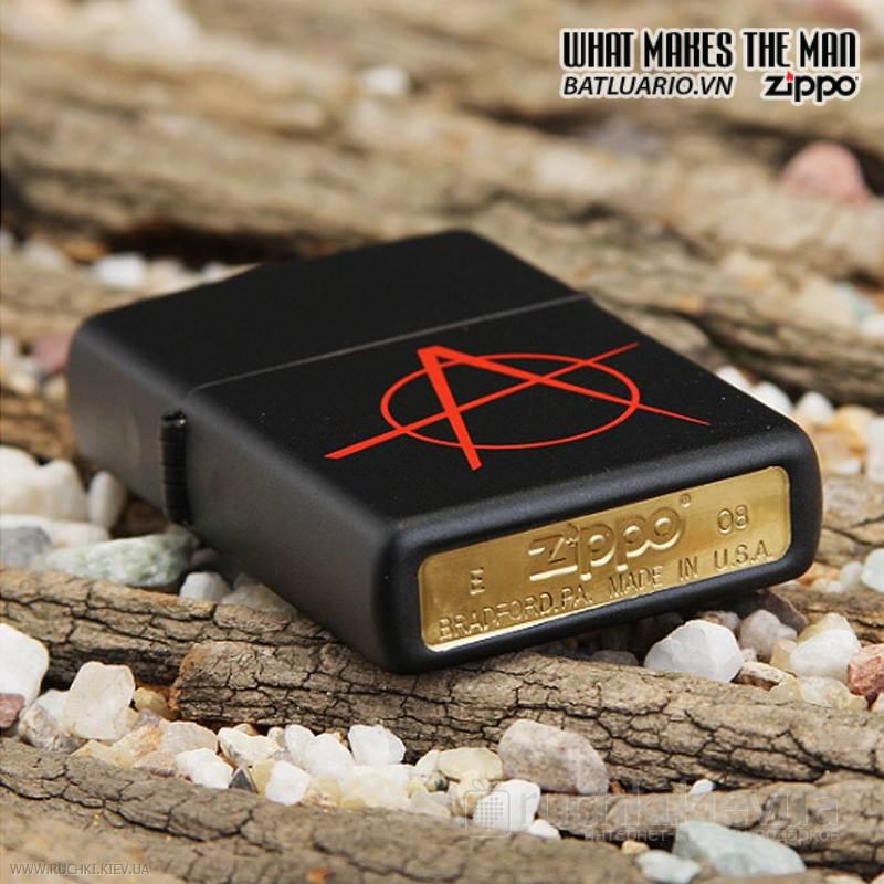 Zippo 20842 – Zippo Anarchy Black Matte 2