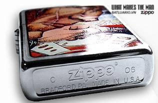 Zippo 21006 – Zippo Racer X Brushed Chrome 1