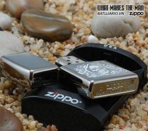 Zippo 24295 – Zippo The Dark Side Black Ice 1