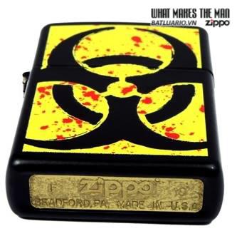 Zippo 24330 – Zippo Hazardous Black Matte 2