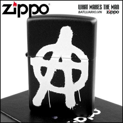 Zippo 24334 – Zippo More Anarchy Black Matte 2