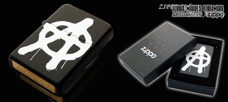 Zippo 24334 – Zippo More Anarchy Black Matte 1