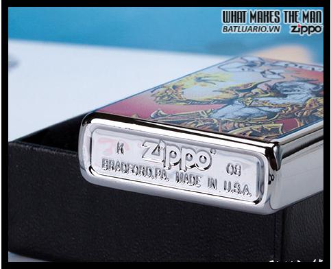 Zippo 24487 – Zippo Devil High Polish Chrome