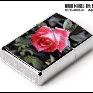 Zippo 24527 – Zippo Rose High Polish Chrome 2