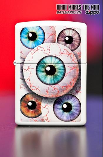 Zippo 24716 – Zippo Eyeball White Matte 1
