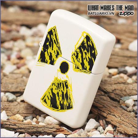 Zippo 24718 – Zippo Radioactive White Matte