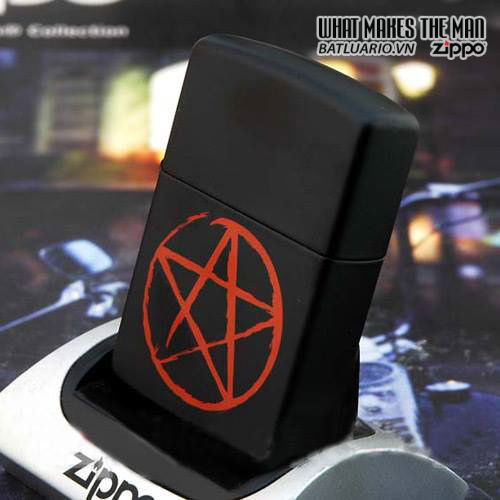 Zippo 24889 – Zippo Pentagram Black Matte 2