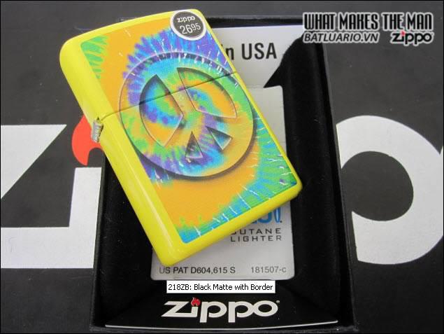 Zippo 24895 – Zippo Tye Dye Lemon Matte 2