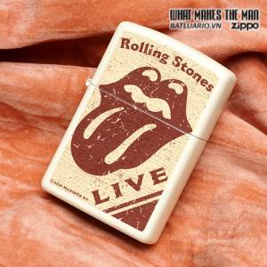 Zippo 28018 – Zippo Rolling Stones Live Cream Matte 1