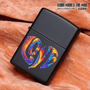 Zippo 28045 – Zippo Colourful Love Black Matte