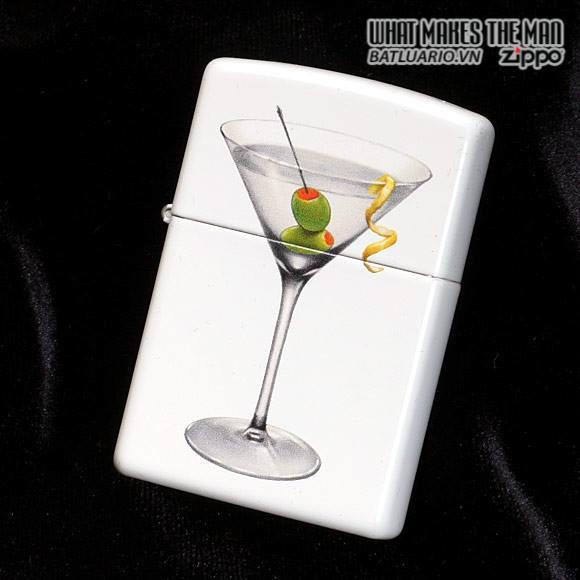 Zippo 28271 – Zippo BS Martini White Matte 2