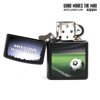 Zippo 28301 – Zippo Football in Stadium Black Matte 2