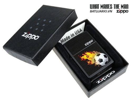 Zippo 28302 – Zippo Soccer Black Ball Matte 1
