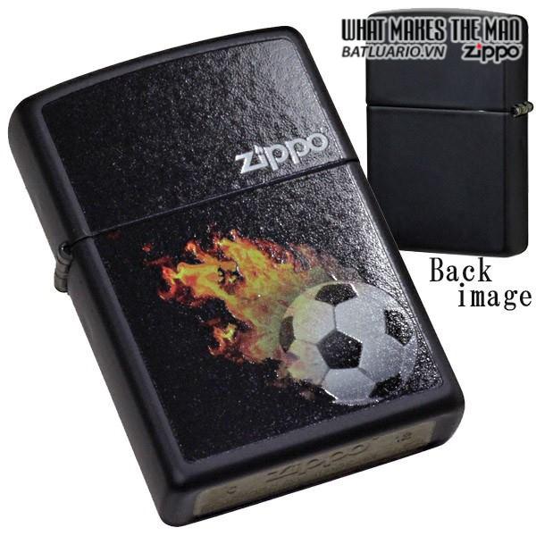 Zippo 28302 – Zippo Soccer Black Ball Matte