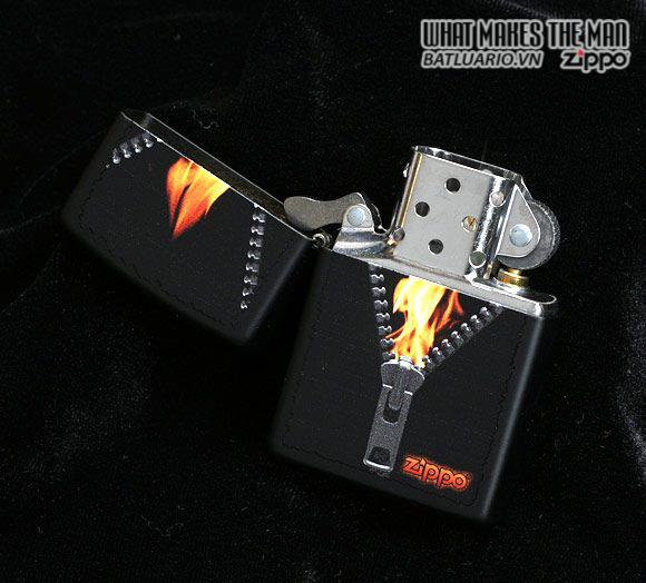 Zippo 28309 – Zippo Zipped Black Matte 1