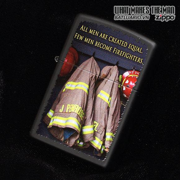 Zippo 28316 – Zippo Fireman Coats Black Matte