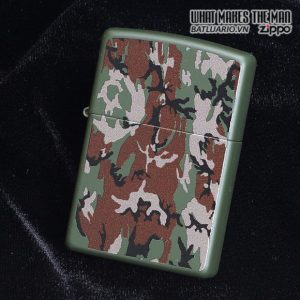 Zippo 28330 – Zippo Camouflage Green Matte 2