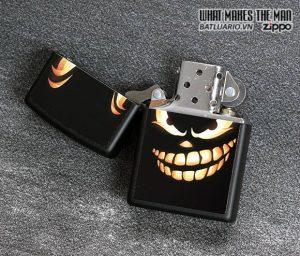 Zippo 28439 – Zippo Scary Jack o Lantern Black Matte 1