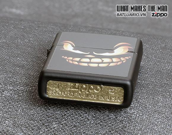 Zippo 28439 – Zippo Scary Jack o Lantern Black Matte