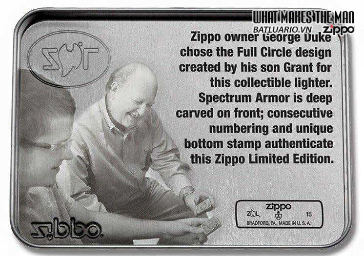 Zippo 28883 – Zippo 2015 Collectible of the year – full circle 4