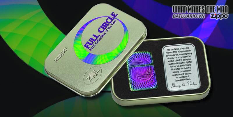Zippo 28883 – Zippo 2015 Collectible of the year – full circle 3