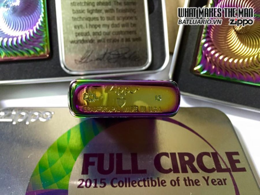 Zippo 28883 – Zippo 2015 Collectible of the year – full circle 9