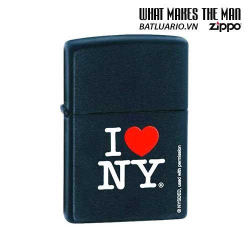 Zippo 24798 - Zippo I Love NY Black Matte