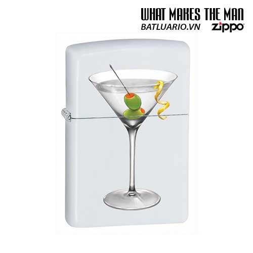 Zippo 28271 - Zippo BS Martini White Matte