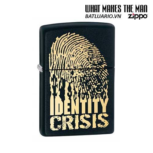 Zippo 28295 - Zippo Identity Crisis Black Matte