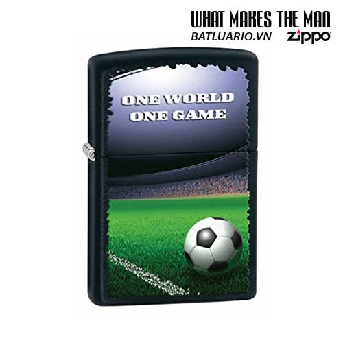 Zippo 28301 - Zippo Football in Stadium Black Matte