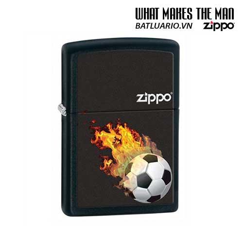 Zippo 28302 - Zippo Soccer Black Ball Matte