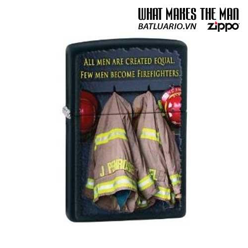 Zippo 28316 - Zippo Fireman Coats Black Matte