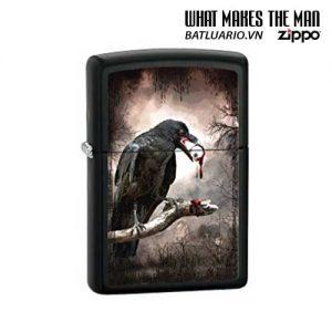 Zippo 28319 - Zippo Goth-Raven Eyeball Licorice