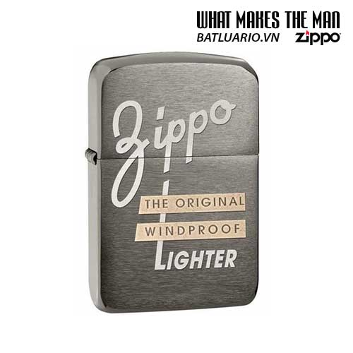 Zippo 28534 - Zippo 1941 Replica Black Ice Windproof
