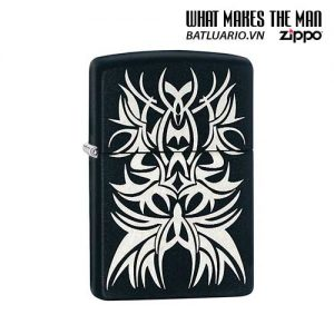 Zippo 28686 - Zippo Tattoo Laser Engraved Mark Black Matte