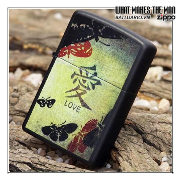Zippo 20839 – Zippo Love Black Matte