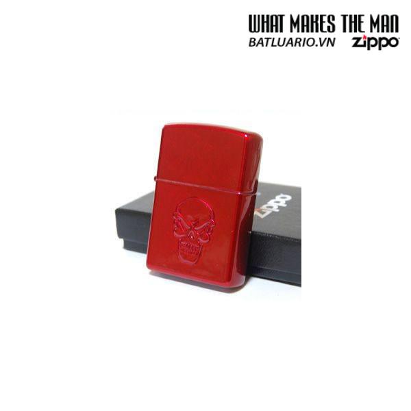 Zippo 21186 – Zippo Doom Stamped Candy Apple Red 3