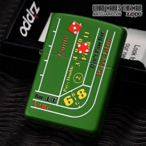 Zippo 24893 – Zippo Craps Table Moss Green Matte 2