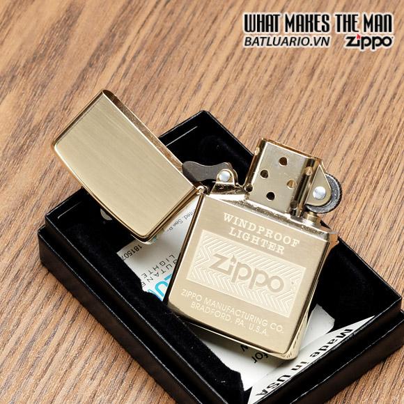 Zippo 28145 – Zippo Windproof High Polish Brass 2