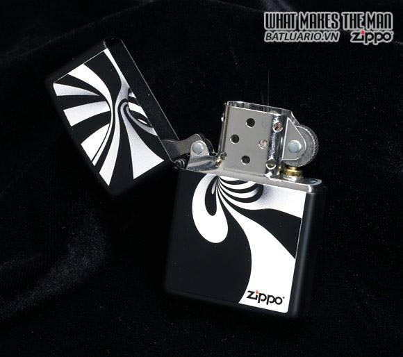 Zippo 28297 – Zippo Spiral Black Matte 2
