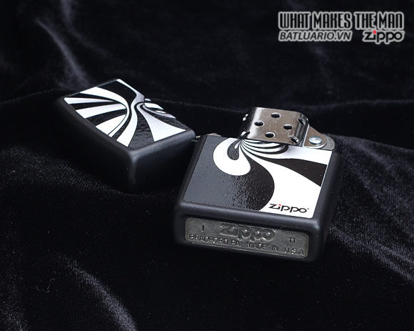 Zippo 28297 – Zippo Spiral Black Matte