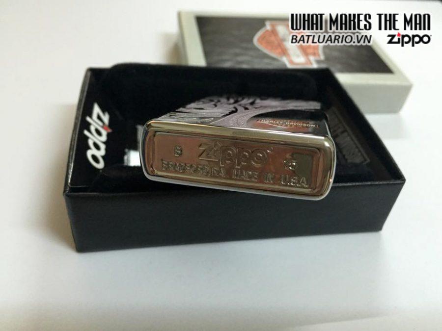 Zippo 28825 – Zippo Harley Davidson Bar & Shield Logo High Polish Chrome 5