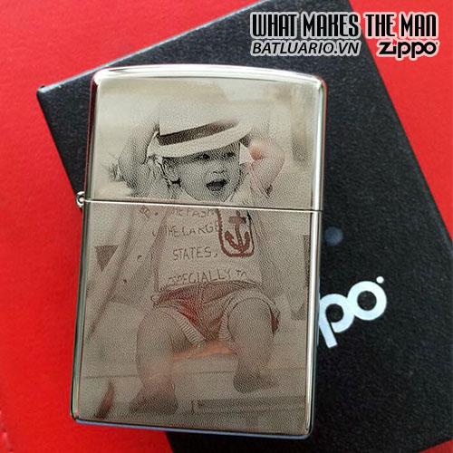 Zippo khắc Chân Dung 05 - Zippo 250.CD05