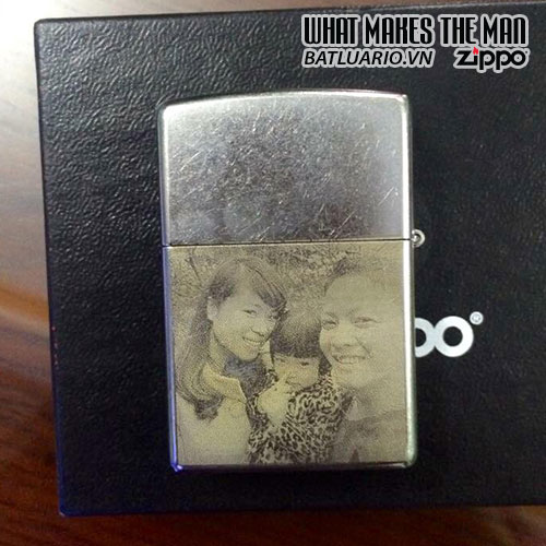 Zippo khắc Chân Dung 11– Zippo 207.CD11