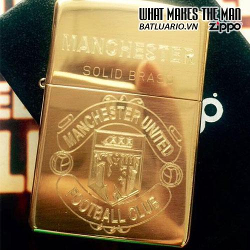 Zippo Khắc Manchester United 04 – Zippo 254.MU04