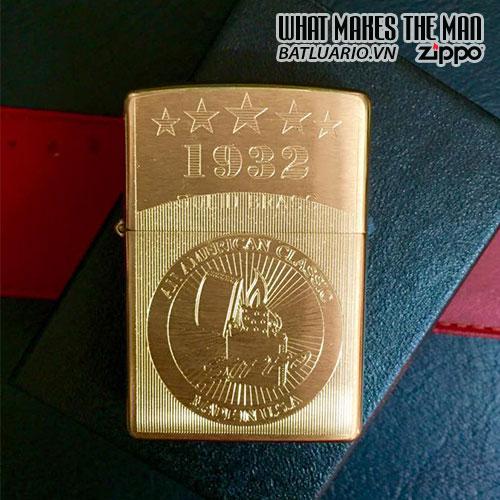 Zippo khắc Made USA 02 – Zippo 204.MUS02